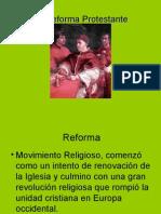 La Reforma Protestante y Contrareforma
