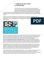 """ESL Lehrer Job \""""h\"""" Englisch als eine zweite Sprachunterricht im Ausland Jobs"""