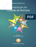 Manual de Sistematização Do Cuidado de Nutrição