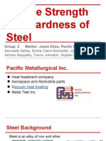 steel toughness and hardness