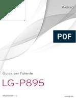 Manuale d'Uso LG Optimus VU (LG-P895)