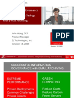 Drive Information Governance and Significant Cost Savings with Email Archiving