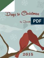 100 Days to Christmas 2015 eBook