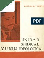Informe de Bernardo Araya e intervención de resumen por Luis Corvalán en la sesión plenaria del comité central del Partido Comunista