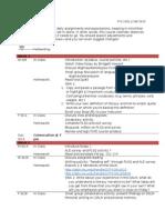 FYSE Schedule