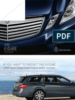 Mercedes E 400 2013 Misc Documents-Brochure