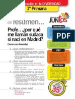 Educacion en La Diversidad Fichas Primaria