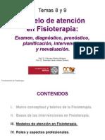 8y9 Modelo de Atencion en Fisioterapia