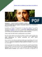 Pascual Serrano la Desinformación