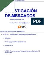Sesion 01 Investigacion de Mercados 2015-2s
