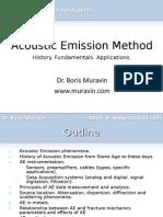 Muravin - Acoustic Emission Method - Short Presentation for Students
