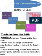 Economic Crisis in India and Trade Cycle in Europian Countries