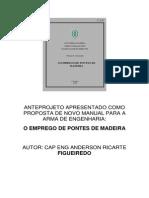 Manual Emprego de Pontes de Madeira