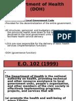 Department of Health (DOH)