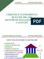 Cerintele Standardului Iso 9001.