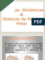 Distocia  Dinámicas