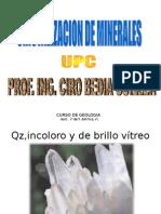 Cristalizacion de Minerales
