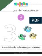 Cuadernillo Numeros Halloween