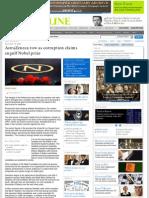 296. AstraZeneca Sponsors Nobel Web.