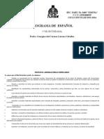 PROGRAMA ANUAL  DE ESPAÑOL 1° SEC  SEC EMUNÁ 2013-2014