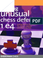 Beating Unusual Chess Defences 1.e4- A.greet