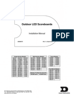 Led Score Board Installation Guide