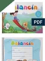 Libro Balancin. Caligrafix. a Partir de Los 3 Años