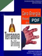 Cero Energia Bloqueo y Etiquetado de Seguridad.