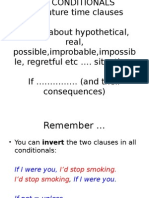 Grammar Lesson 6 - Conditionals
