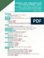 Guia rapida de urgencias pediatria 2014