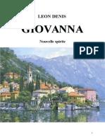 Denis Léon Giovanna Nouvelle Spirite Jys