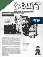 K-BUTT. Välzische Pfolxzeitung. Nr. 16