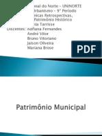 Patrimônio Municipal