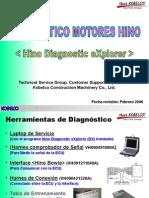 Diagnostico Motores HINO Spañol - Kobelco