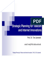.Telecom and Internet Innovations-Intro