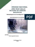 Monografía Alzheimer