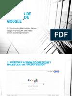 Creación de Usuario de Google