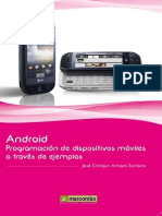 Android Programacion Para Dispositivos Moviles