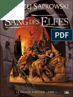Sapkowski, Andrzej - Sorceleur 1 - Le Sang Des Elfes