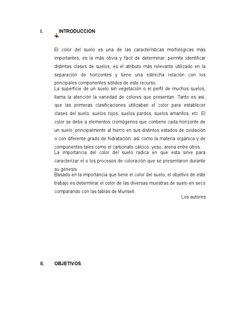 Famoso Munsell Libro De Colores Del Suelo Foto - Ideas Para Colorear ...