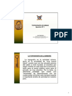 Apuntes N 1 Topograf a de Minas (PDF)