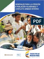 Lineamientos Atencion Educativa Víctimas de la violencia