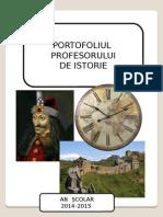 Portofoliu Prof.ist Facut de Mine