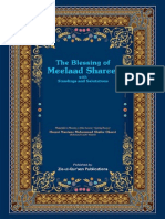The Blessing of Meelaad Shareef with Standings and Salutations