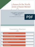 Housing Issues Saint Michel