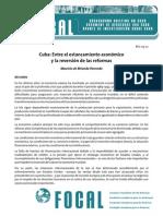 Cuba_entre El Estancamiento Economico y La Reversion de Las Reformas