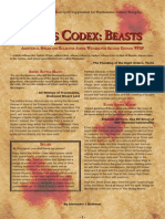 Teclis Codex 1 - Beasts