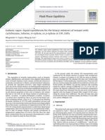 Isobaric Equilibrium liquid-vapor ciclohexane, nonane, heptane,lolol