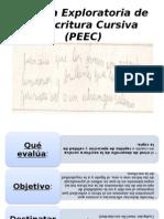 Prueba Exploratoria de La Escritura Cursiva (PEEC