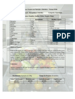 Receitas Nutrição e Dietética